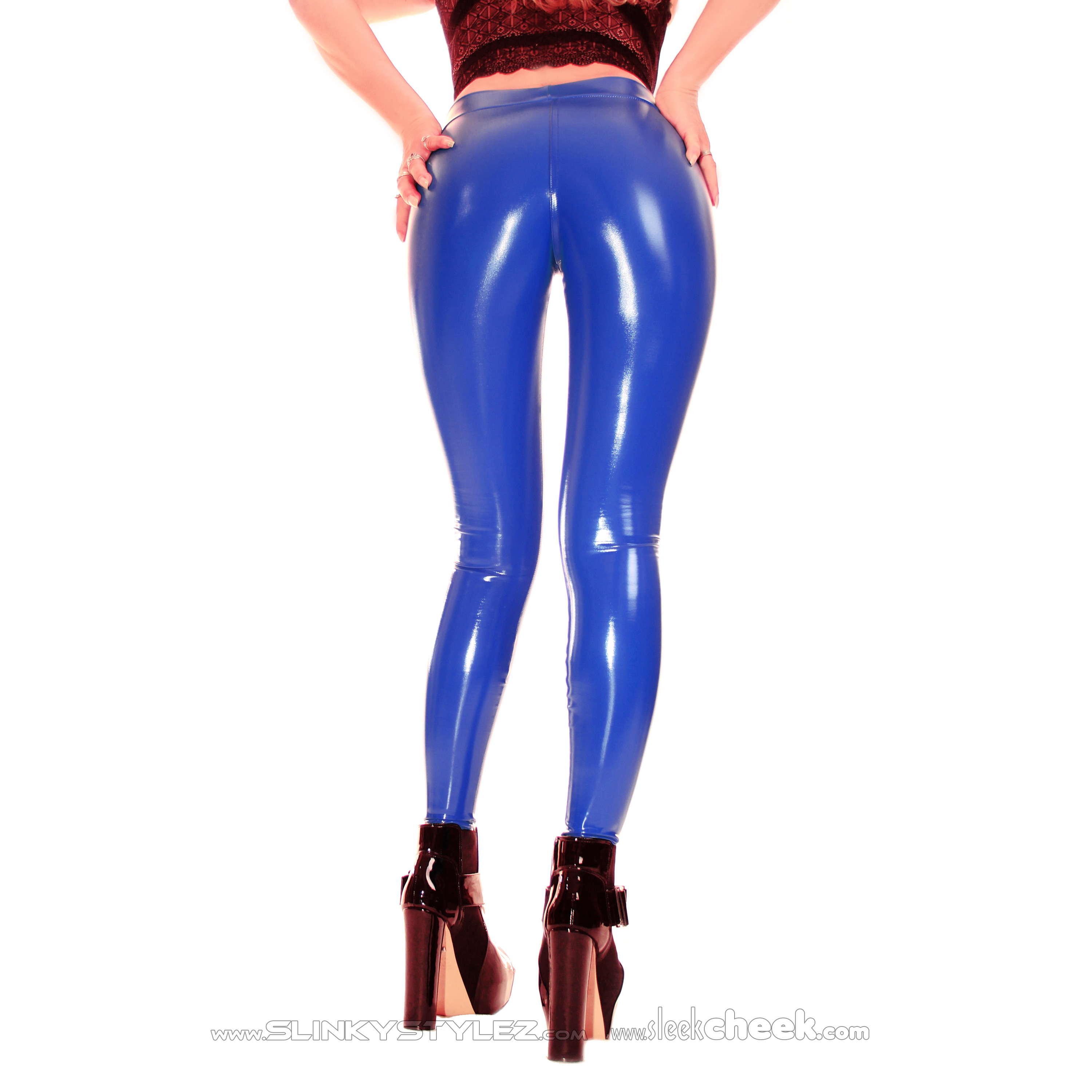 SLEEKCHEEK UltraContour Leggings HL2AX - CrystalLac Z360 ROYALBLUE - STANDARD (L22D-N10N21)